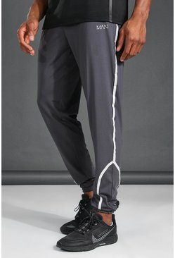 Grey MAN Active Reflective Jogger