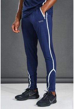 Navy MAN Active Reflective Jogger