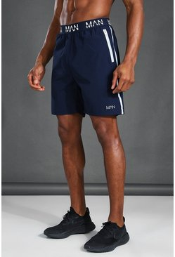 Navy MAN Active Reflective Shorts