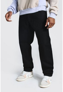 True black Relaxed Fit Rigid Jean