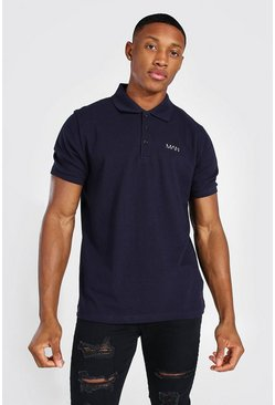Navy Original MAN Pique Polo