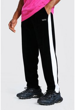 Black Man Official Loose Fit Velour Jogger