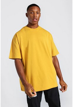 Mustard yellow Oversized T-Shirt