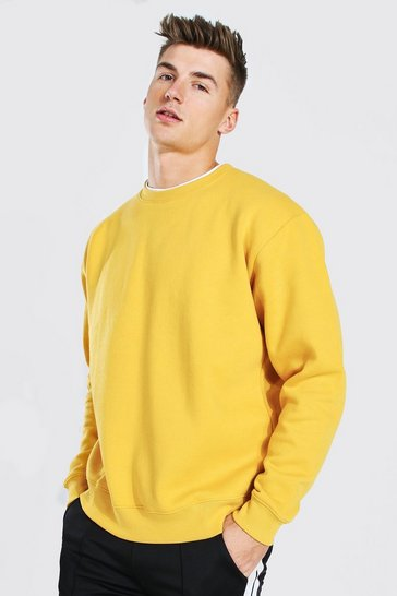 Mustard yellow Oversized Sweatshirt