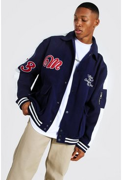 Utility Varsity Harrington, Blue Синий
