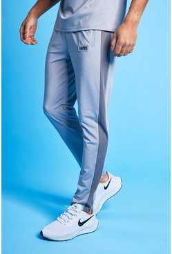 Grey Man Active Colour Block Joggingbroek