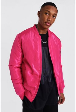Pink Ma1 Bomber