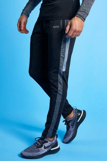 Black Man Active Tonal Track Pant