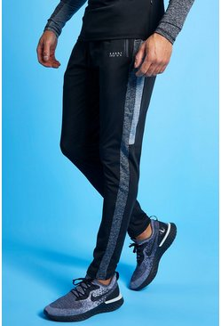 Black Man Active Tonal Track Pant