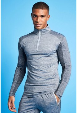 Grey Man Active Tonal 1/4 Zip Tracksuit