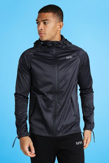 Black Man Active Tonal Windbreaker