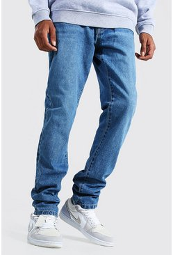Mid blue blue Tall Slim Rigid Jeans