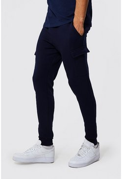 Tall Basic Skinny Cargo Jogger, Navy Тёмно-синий