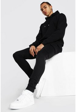 Black Tall Basic Skinny Cargo Jogger