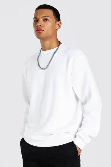 White Tall Basic Sweater