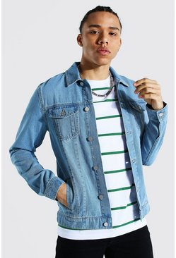 Light blue blue Tall Regular Denim Western