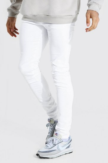 White Tall Skinny Jeans