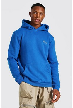 Blue Man Official Heavyweight Over The Head Hoodie