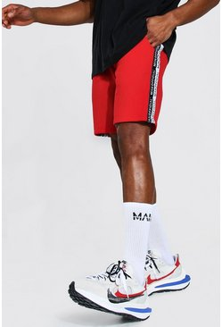 Red Man Official Tape Mid Length Regular Short
