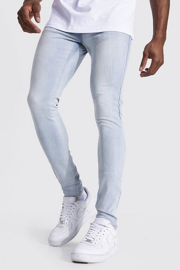 Ice blue Super Skinny Stretch Jean