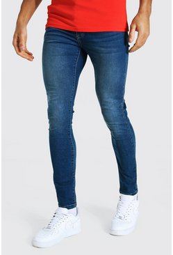Antique blue Super Skinny Stretch Jean