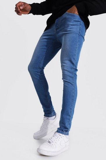 Light blue blue Super Skinny Stretch Jean