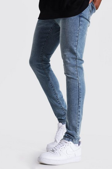 Vintage blue blue Super Skinny Stretch Jean