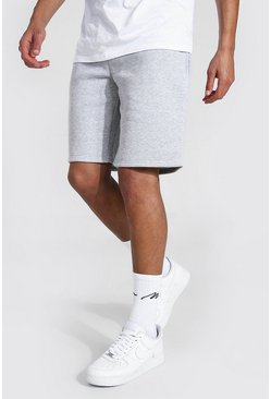 Grey marl grey Tall MiddellangeBasic  Jersey Shorts