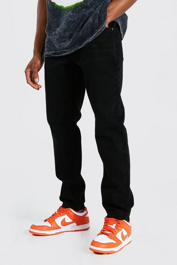 Washed black Slim Rigid Jean