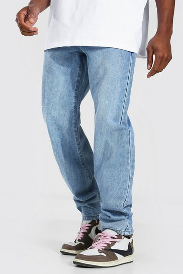Light blue blue Relaxed Fit Rigid Jean