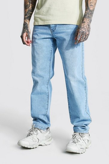 Ice blue Relaxed Fit Rigid Jean