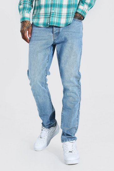 Light blue blue Slim Rigid Jean