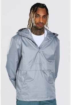 Grey Man Smart Packable Overhead Cagoule