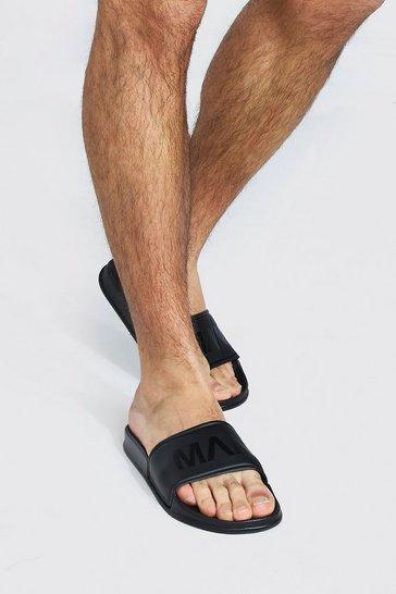 Black Active Man Sports Slider