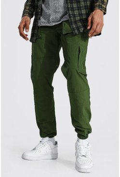 Green Tall Man Official Cargo Trousers