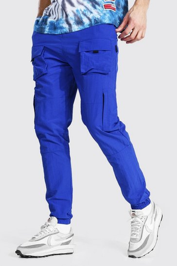 Cobalt blue Tall Man Official Cargo Trousers