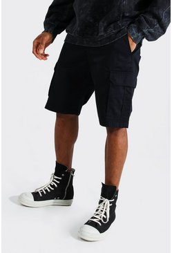 Short cargo, Black noir