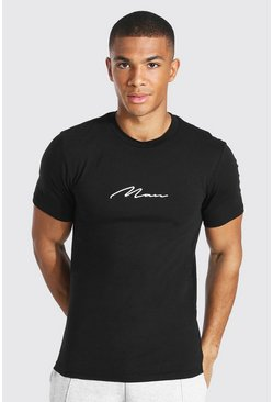 T-shirt - MAN, Black noir