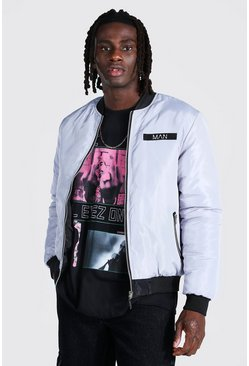 Official Man Reversible Ma1 Bomber Jacket, Multi Мульти