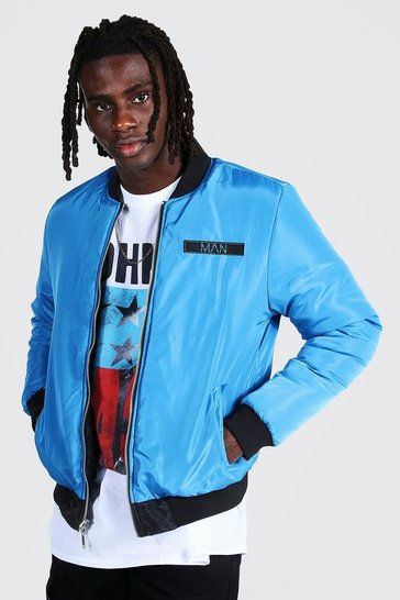 Multi Official Man Reversible Ma1 Bomber Jacket