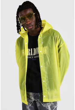 Imperméable court pliable, Yellow jaune