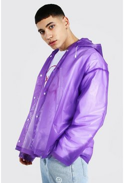 Purple Foldaway Short Mac