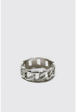 Silver Mini Chain Ring