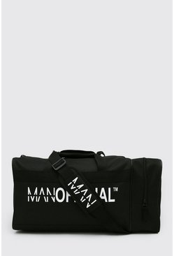 Black Man Official Double Pocket Large Holdall