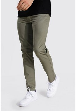 Khaki Tall Slim Fit Chino Pants