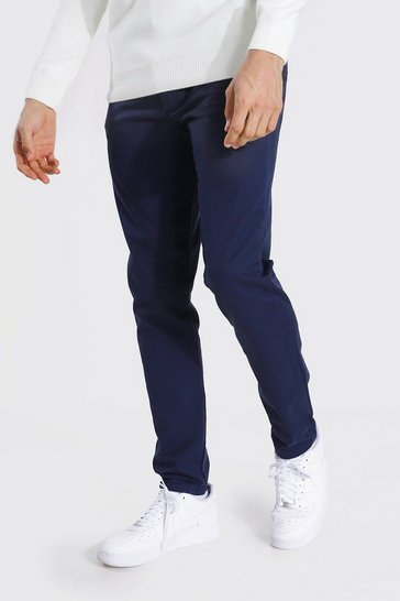 Navy Tall Slim Fit Chino Trouser