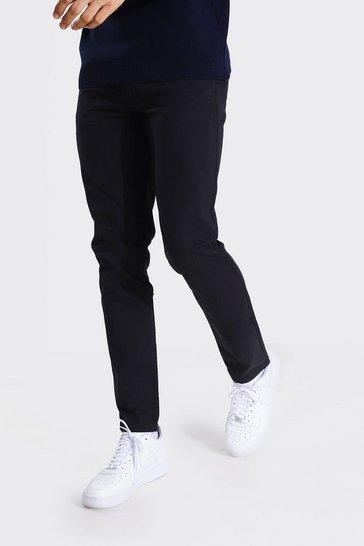 Black Tall Slim Fit Chino Trouser