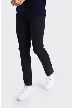 Black Tall Slim Fit Chino Trouser