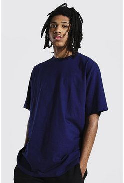 Navy Tall Oversized T-shirt