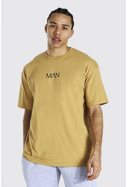 Sand beige Tall Man Oversized T-shirt